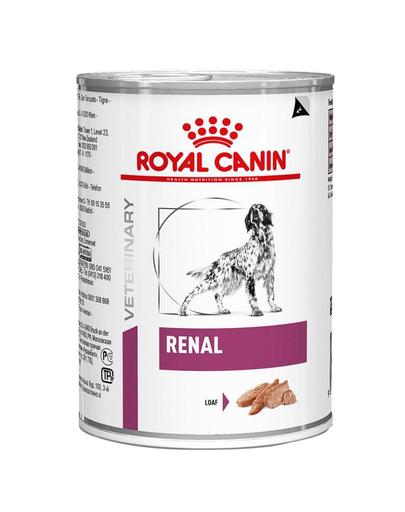 ROYAL CANIN Renal Canine hrană umedă pentru câinii cu insuficiență renală cronică 420 gr